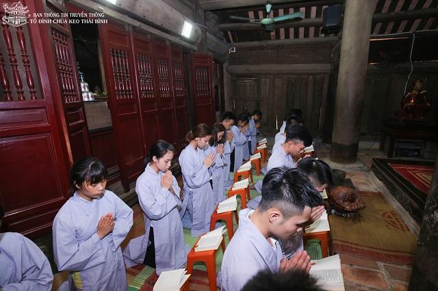 Tổ đình chùa Keo tổ chức lễ cầu nguyện tiếp sức mùa thi năm 2018