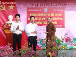 """Chương trình """"Quyên góp, ủng hộ em Phạm Vân Anh"""